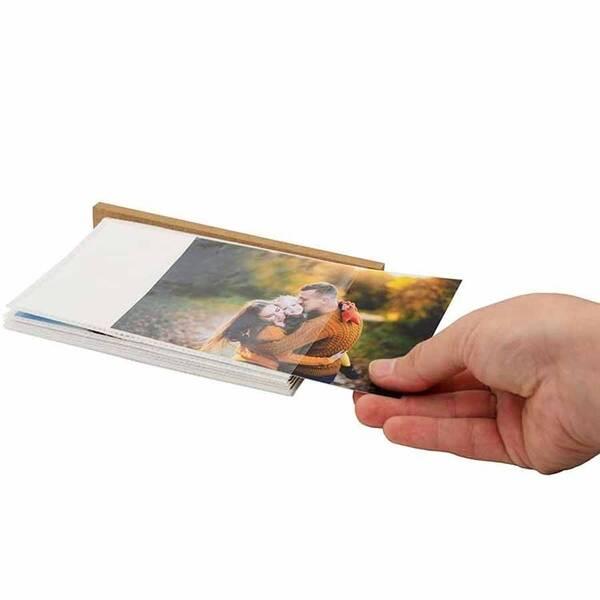 Ahşap Sandıklı 10cmx15cm Fotoğraf Albümü