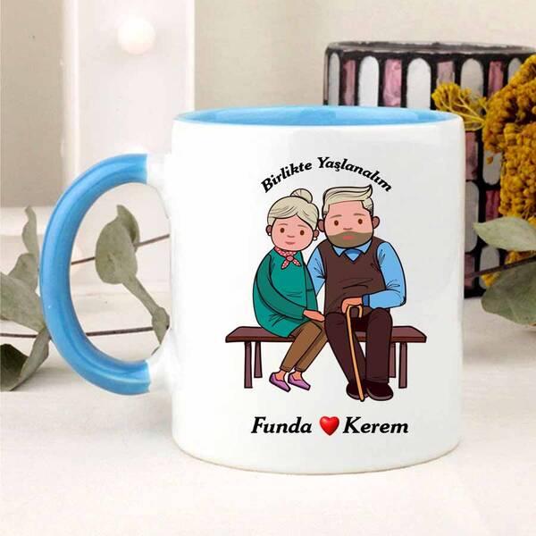 Birlikte Yaşlanalım Kupa Bardağı