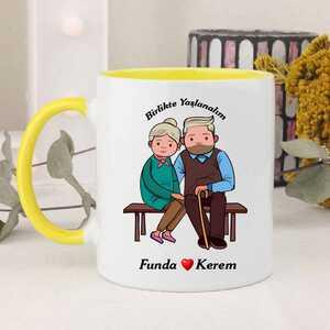 Birlikte Yaşlanalım Kupa Bardağı - Thumbnail