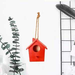 Dekoratif El Yapımı Kuş Yuvası - Thumbnail