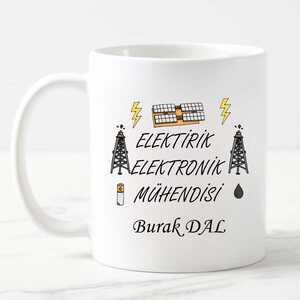 - Elektrik Elektronik Mühendisine Hediye Kupa Bardak