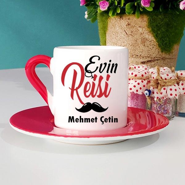 Evin Reisi İsimli Türk Kahve Fincanı