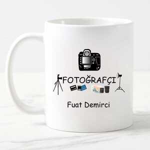 - Fotoğrafçıya Hediye Kupa Bardak