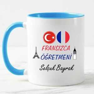 - Fransızca Öğretmenine Hediye Kupa Bardak