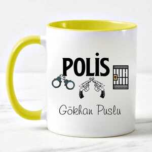 - İsimli Polis Kupa Bardağı