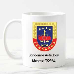 - Jandarma Astsubayına Hediye Kupa Bardak