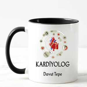 - Kardiyologlara Özel İsimli Kupa Bardak