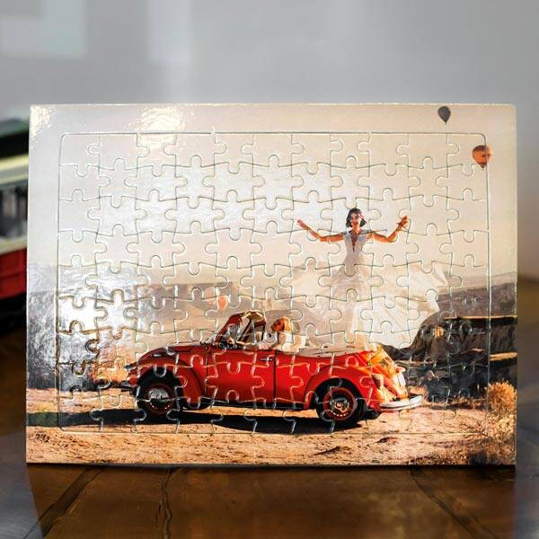 Kişiye Özel Fotoğraf Baskılı Puzzle 99 Parça