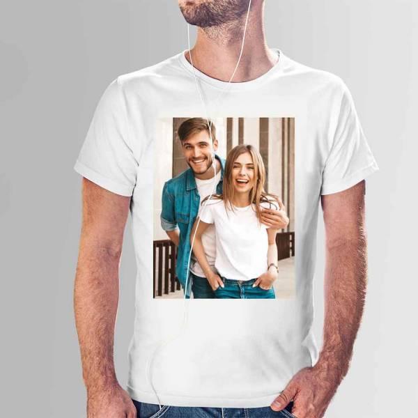 Kişiye Özel Fotoğraf Baskılı Tişört
