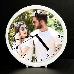 Kişiye Özel Fotoğraflı Çalar Saat - Thumbnail