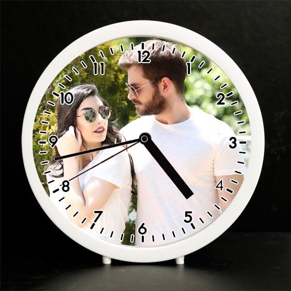 Kişiye Özel Fotoğraflı Çalar Saat