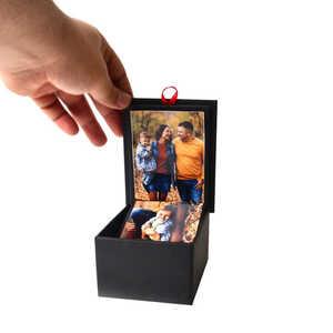 Kişiye Özel Fotoğraflı Kutu Albüm Akordiyonlu - Thumbnail