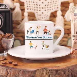 Kız Babası Türk Kahve Fincanı - Thumbnail