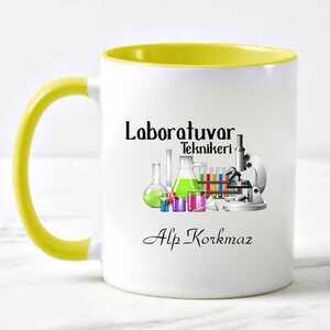 - Laboratuvar Teknikerine Hediye Kupa Bardak