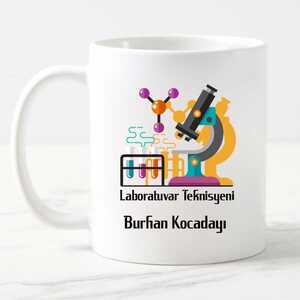 - Laboratuvar Teknisyeni Kupa Bardak