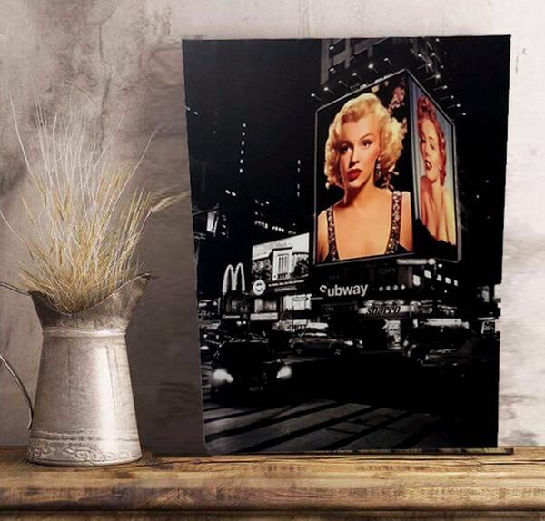 Marilyn Monroe Kanvas Tablo 60cmx80cm