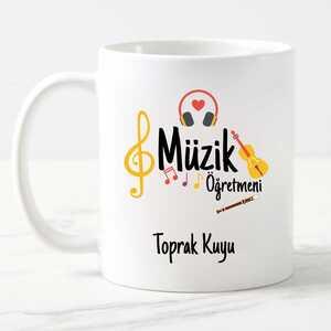 - Müzik Öğretmenine Hediye Kupa Bardak