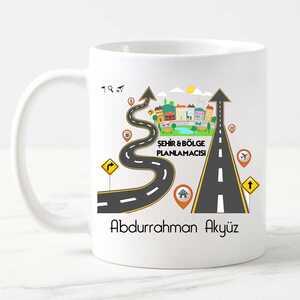 - Şehir Bölge Planlamacısı Kupa Bardak