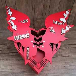 Sevgiliye Özel 4 Lü Hediye Kutu Seti - Thumbnail