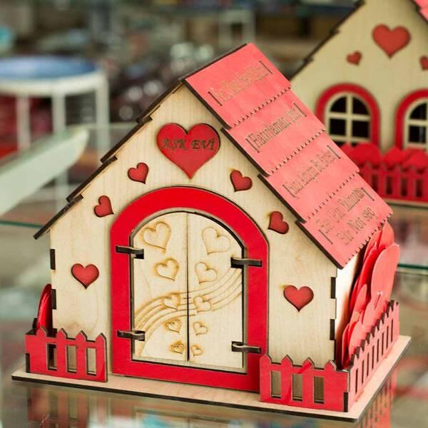 Sevgiliye Özel Aşk Evi
