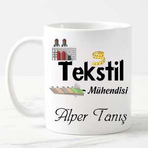 - Tekstil Mühendisine Hediye Kupa Bardak