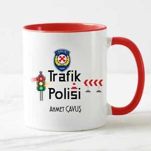 - Trafik Polisine Hediye Kupa Bardak