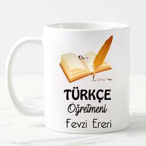 - Türkçe Öğretmeni Kupa Bardak