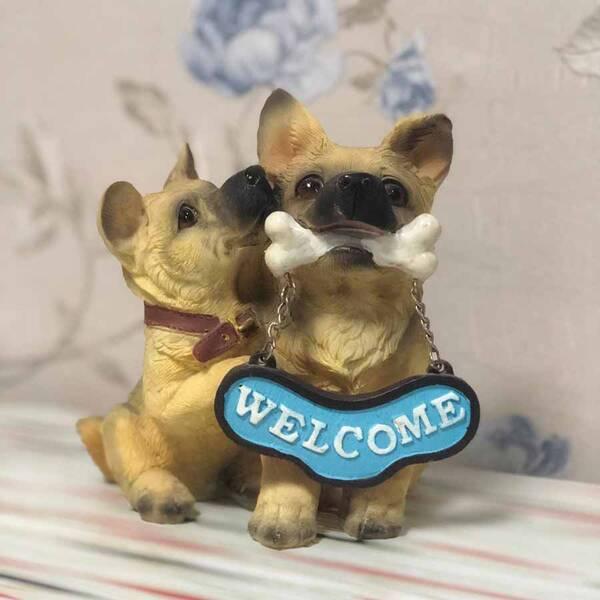 Welcome Yazılı Köpek Biblosu