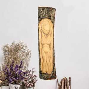 - Dekoratif Ağaç Oyma Duvar Süsleri