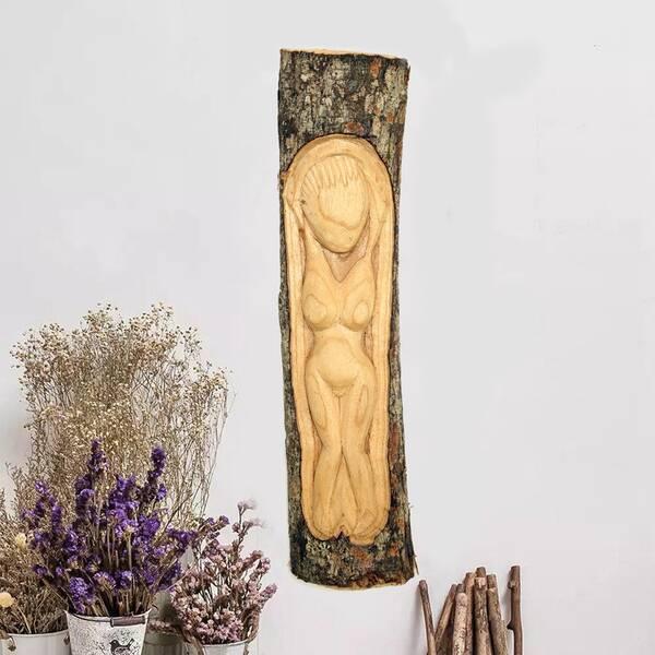 Dekoratif Ağaç Oyma Duvar Süsleri