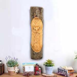 Dekoratif Ağaç Oyma Duvar Süsleri - Thumbnail